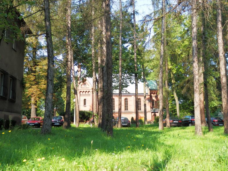 f1ece12344ee32 Kaplica w kompleksie Szpitala Psychiatrycznego w Rybniku - Miejski ...